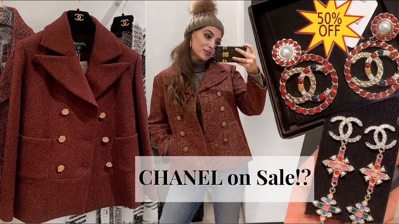 CHANEL JANUARY SALE | Weekend Vlog Shopping, Harrods Winter Wonderland