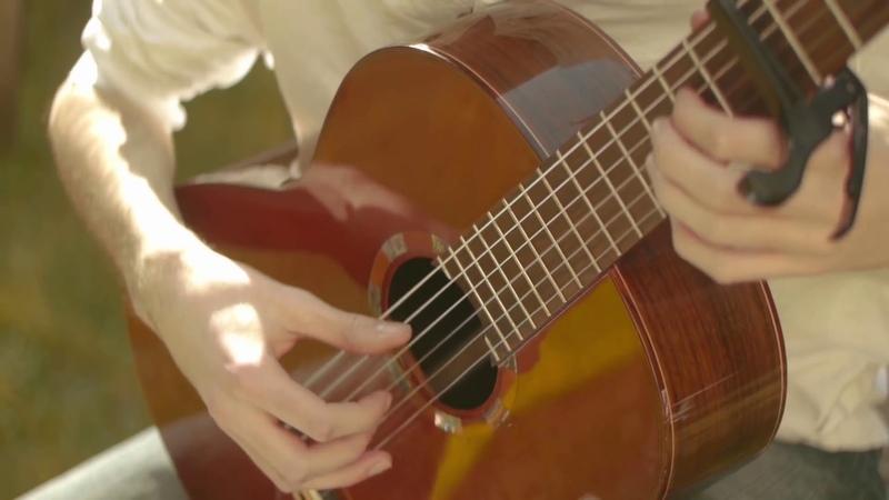 Ludovico Einaudi Una Mattina Guitar Cover