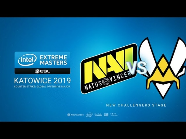 Na`Vi vs Vitality - IEM Season XIII - Katowice Major 2019 - map1 - de_mirage [MintGod SSW]