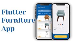 Furniture App - Flutter UI - Speed Code