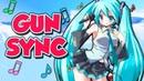 ♪ Ievan Polkka ♪ ~ Overwatch Gun Sync ~ Hatsune Miku Vocaloid