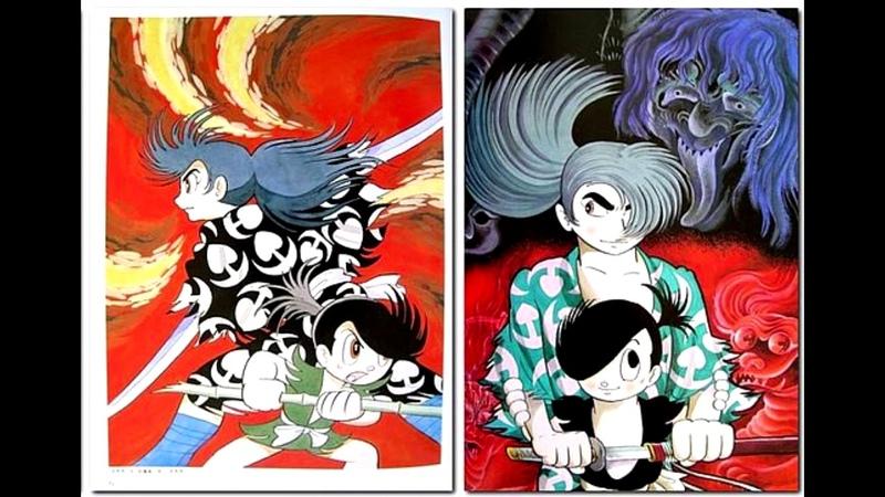 Dororo Jigoku Emaki no Shou Battle Mintsuchikamui Odorobi cover by pavel likhov