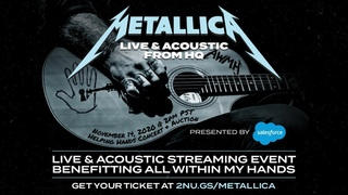 Metallica - The All Within My Hands Helping Hands Concert (2020) [Full Webcast]