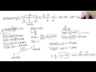 Бесплатный курс от репетитора по химии. Занятие 2. Расчеты количества вещества (моль)
