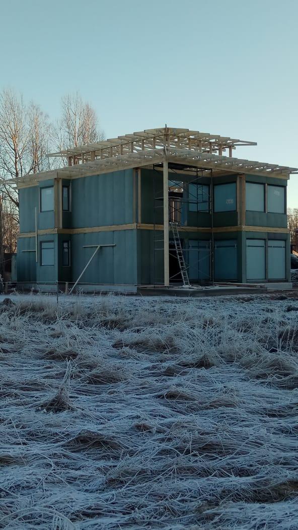 Панельно-каркасный дом и каркасный дом – НЕ ОДНО И ТО ЖЕ!, изображение №8