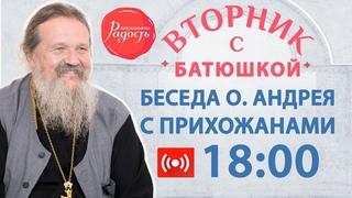 Беседа с отцом Андреем Лемешонком. Православный фестиваль «Радость» онлайн.