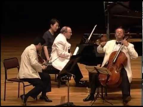 Beethoven Piano Trio in D Major Op.70 No1, Ghost - Beaux Arts Trio