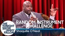 Random Instrument Challenge with Shaquille O'Neal