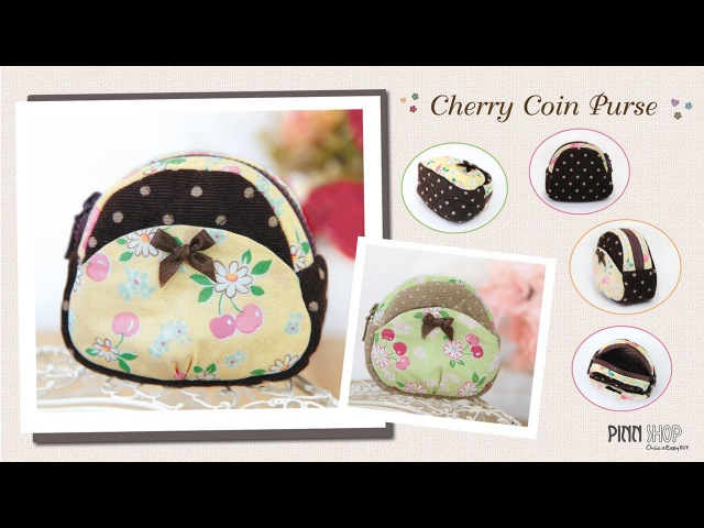 Cherry Coin Purse_PINN SHOP