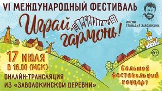 Играй, гармонь! | Большой фестивальный концерт из Заволокинской Деревни | Разные исполнители