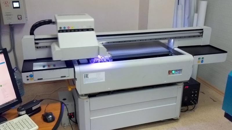 TDesk9060 УФ- печать на цилиндрах