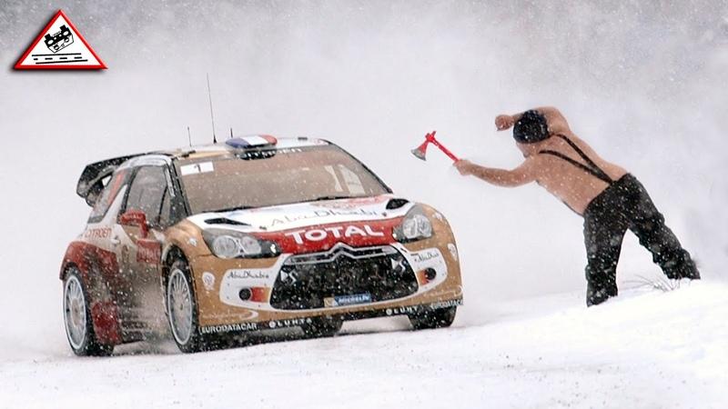 TRIBUTE WRC Rallye Monte Carlo 2011 2020 Crash Show Passats de canto