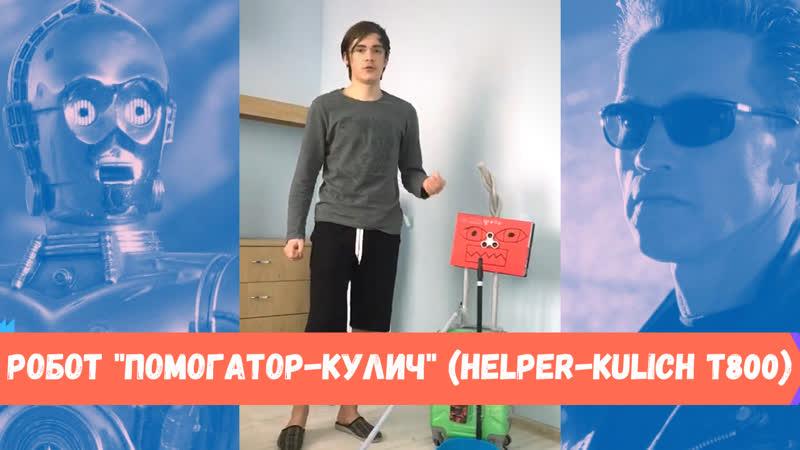Робот Помогатор Кулич HELPER KULICH T800