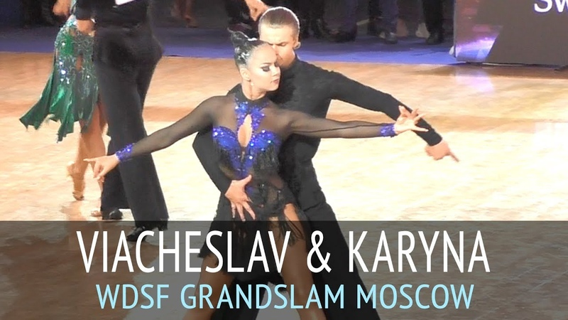 Viacheslav Pastukhov Karyna Kalykhan Румба 2018 GrandSlam Latin в Москве