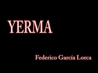 Yerma (Federico García Lorca). Dirigida por Rocío Marín. Teatro La Puerta Estrecha 2017