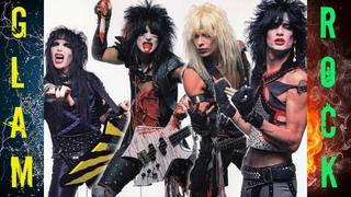 Glam Rock/ Hair metal '80's/ Best rock hits/ Hard guitars and beautiful girls