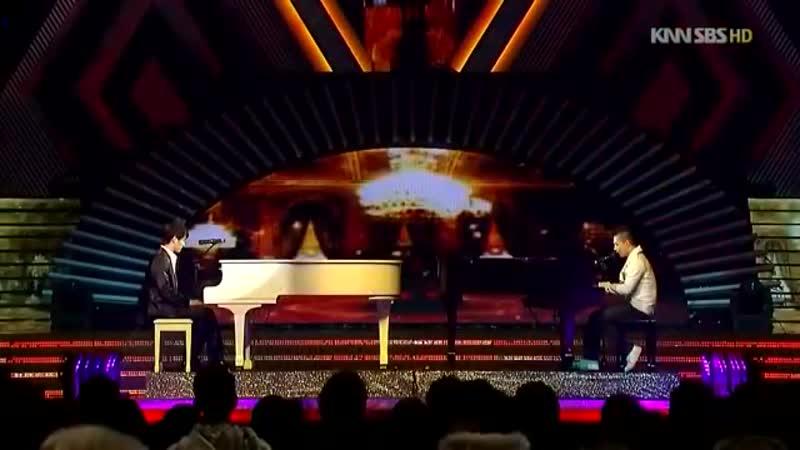 TaeYang VS Xiah Junsu Piano Battle Live 2008-12-29 HD