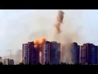 Донецк: Как летели артиллерийские снаряды и мины в жилые многоэтажки. АТО, Донбасс, ДНР, ЛНР