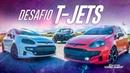 T-Jets no retão! Punto Stage 3 turbina GT 1446 vs Híbrida vs Linea Stg 2 na Drag Race 105