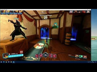 [PALADINS]Kinessa in casual, nice matchmaking