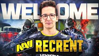 Recrent Присоединяется к NAVI Call of Duty Warzone