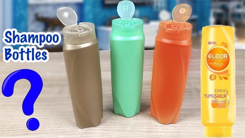 Plastik Şampuan Şişeleri İle Süper Geri Dönüşüm Fikri