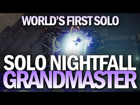 THS Destiny2 World's First Solo Grandmaster Nightfall The Insight Terminus Destiny 2