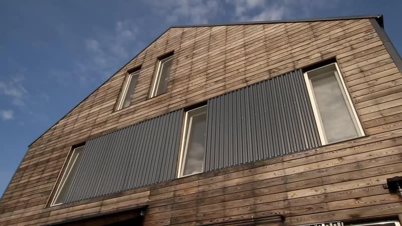 Каменный дом с нестандартной отделкой на свайно-ростверковом фундаменте -- FORUMHOUSE.mp4