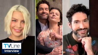 'Lucifer': Tom Ellis & Lauren German React to Final Season Twists [SPOILERS] | TVLine Interview