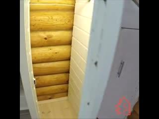 Отличная идея для шкафа в мансарде - Идеи для сада | дача | ландшафт| огород