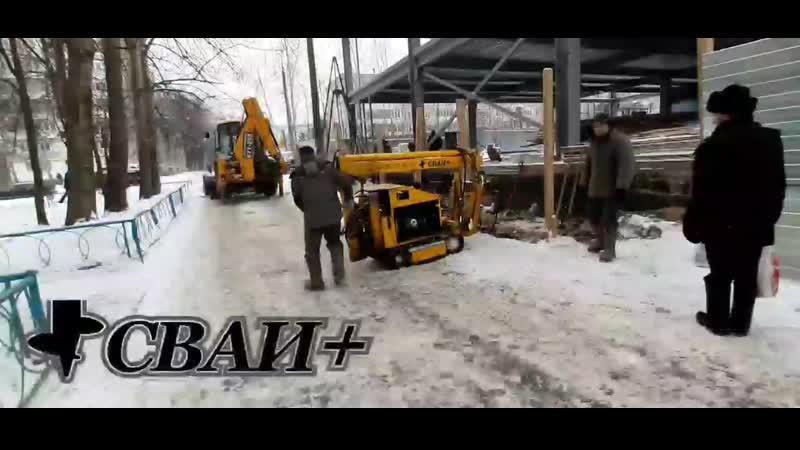 Винтовые сваи 89 3500 под лестницу торгового комплекса Чебоксары ул Шумилова