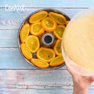 id_41969 Пирог-перевертыш с апельсинами 🍊  Автор: cookist  #gif@bon
