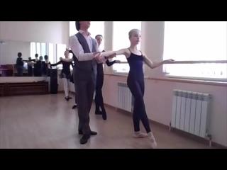 Красносельская балетная студия. Экзерсис.