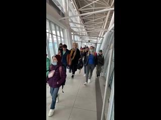 Арабеск летит в Казань