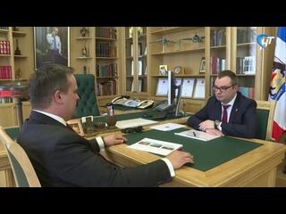Губернатор Андрей Никитин обсудил с министром транспорта и дорожного хозяйства Артемом Мироном планы на сезон