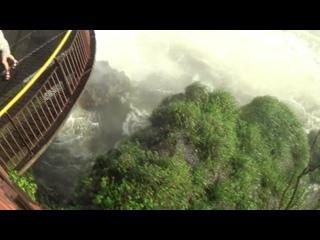 АРГЕНТИНА  Игуассу  Аргентинская  сторона  водопада  не  менее красива  чем  Бразильская . Она  даже  лучше  обустроена