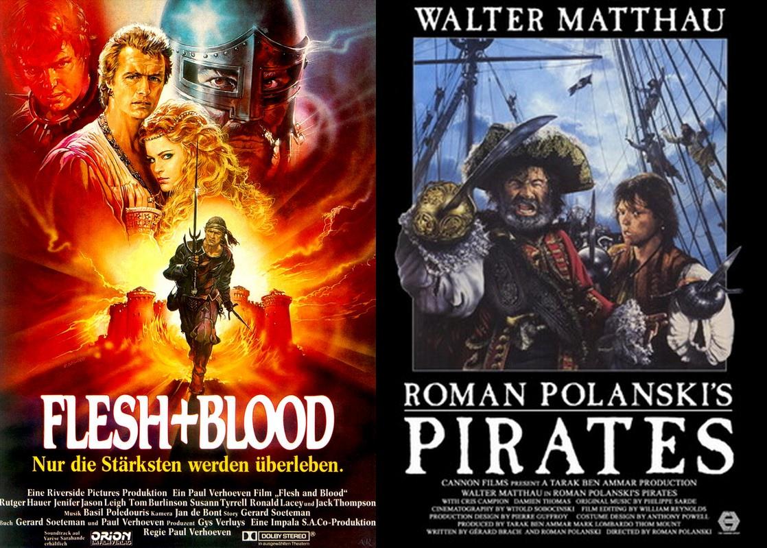 «Flesh+Blood» 1985 «Pirates» 1986