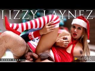 Lizzy Laynez - Merry XXXMas Trans500