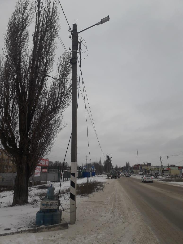 В Таганроге устранены повреждения в работе уличного освещения