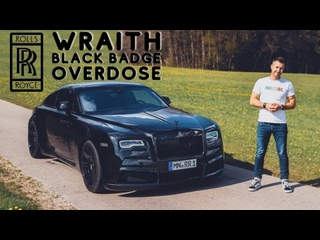 1 of 3 WIDEBODY Rolls Royce Wraith Black Badge with 717hp / 30 The Supercar Diaries