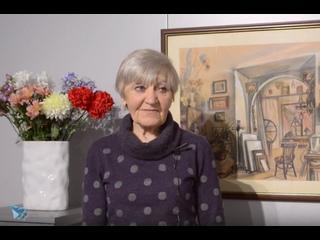 Юбилейная выставка Веры Самариной  «Учитель и ученики»  60 лет ХГФ