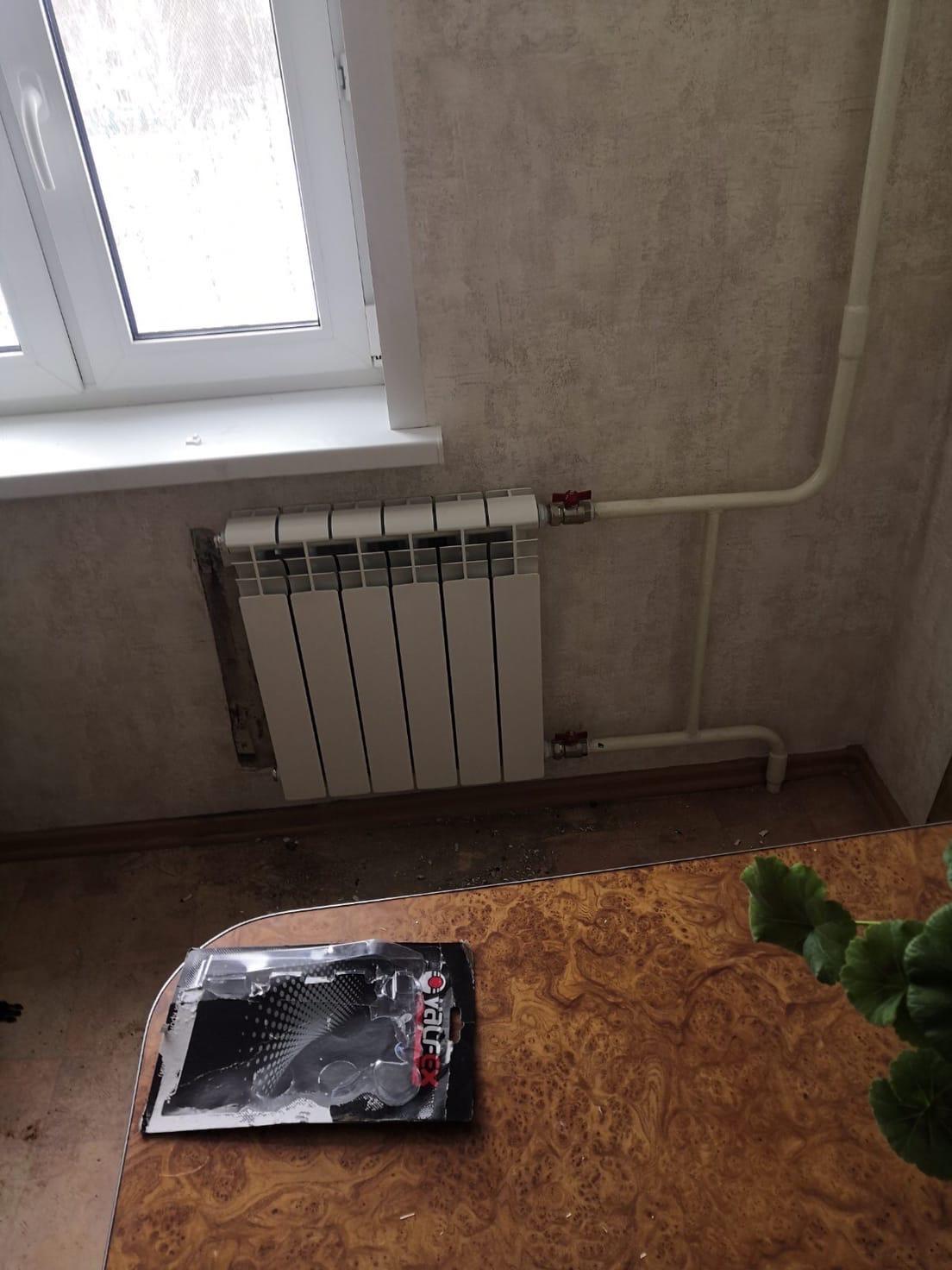 Строителей 46-167 замена радиатора