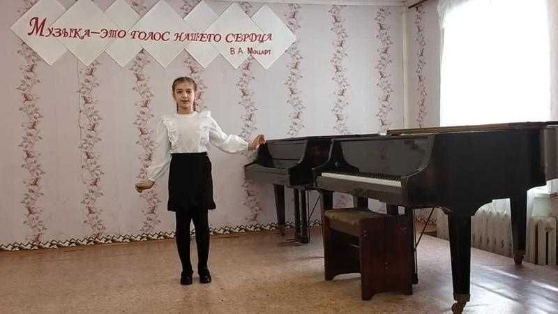 20 Огурцова Арина Диплом 3 степени Половинская ДШИ Рук Козеева Ольга Сергеевна