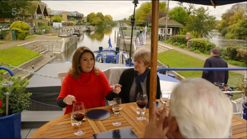 Cruising with Jane McDonald Hampton Court to Henley on Thames Channel 5 2021 UK ENG SUB ENG