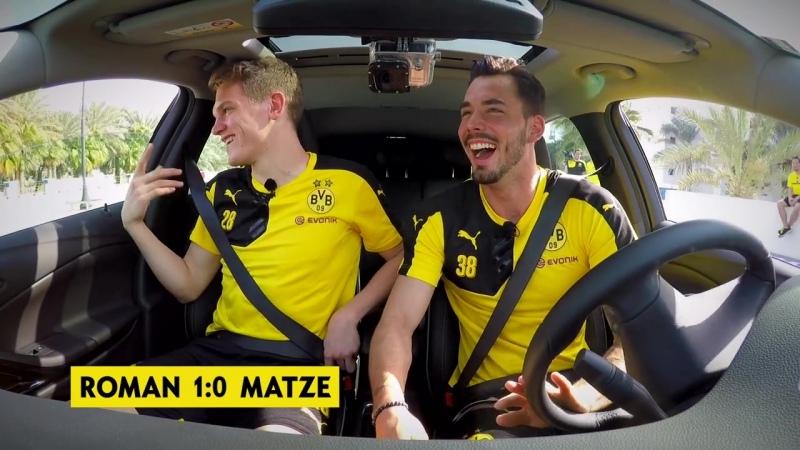 Opel ASTRA Challenge Roman Bürki vs Matthias Ginter