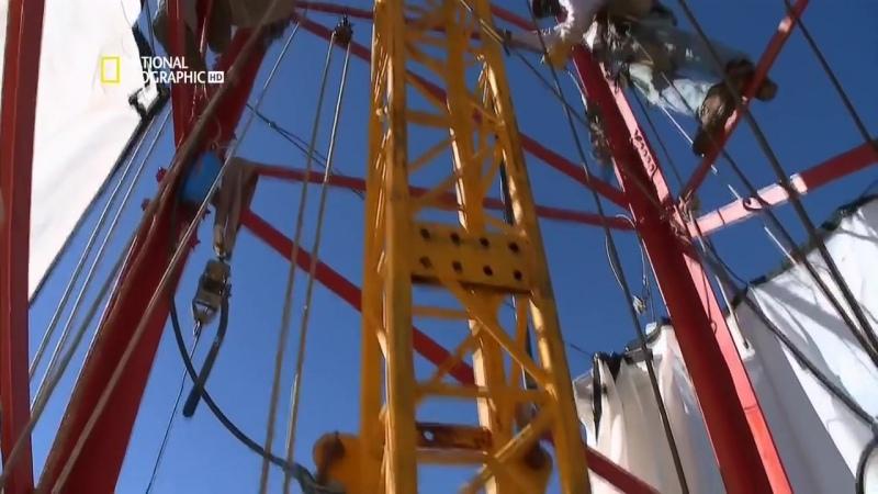 National Geographic Труднейший в мире ремонт Техасская телебашня HD 720p