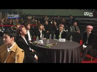 `VIDEO` 170222 Bangtan - Long Shot Cut 2 @ 6th Gaon Chart Music Awards.