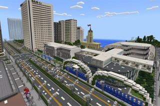 Город в майнкрафте 0.13.0
