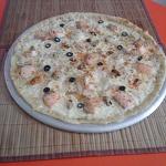пицца «Морская»  33 см и  на 40 см.