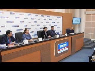 Гастроли СГТКО в марте 2019. Репортаж с пресс-конференции в медиацентре Россия (Уфа)